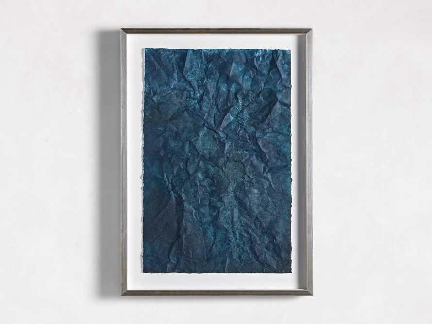 Denim Abstract Framed Print II, slide 7 of 9