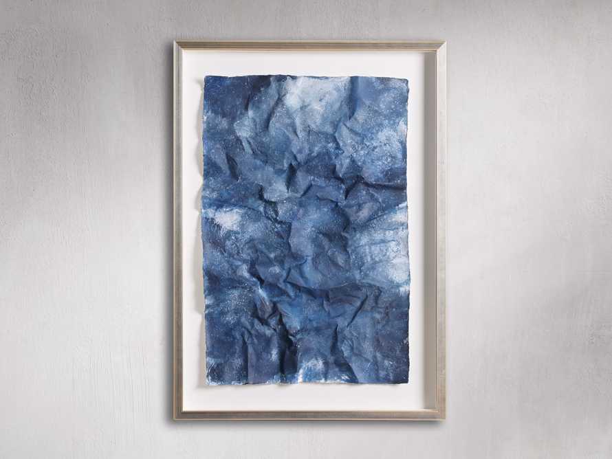 Denim Abstract Framed Print II, slide 4 of 9