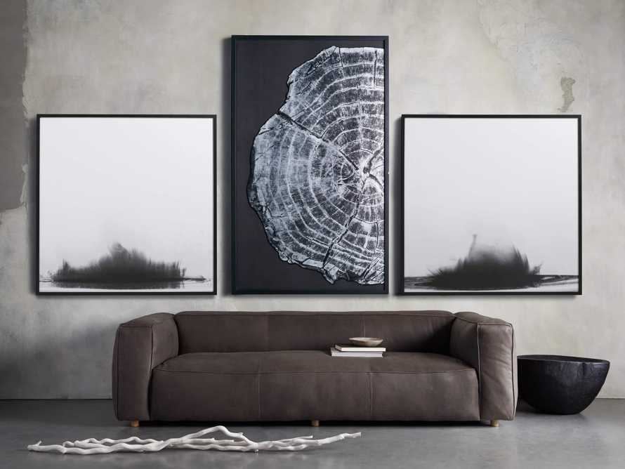 "37"" Tree Ring Framed Diptych 1"