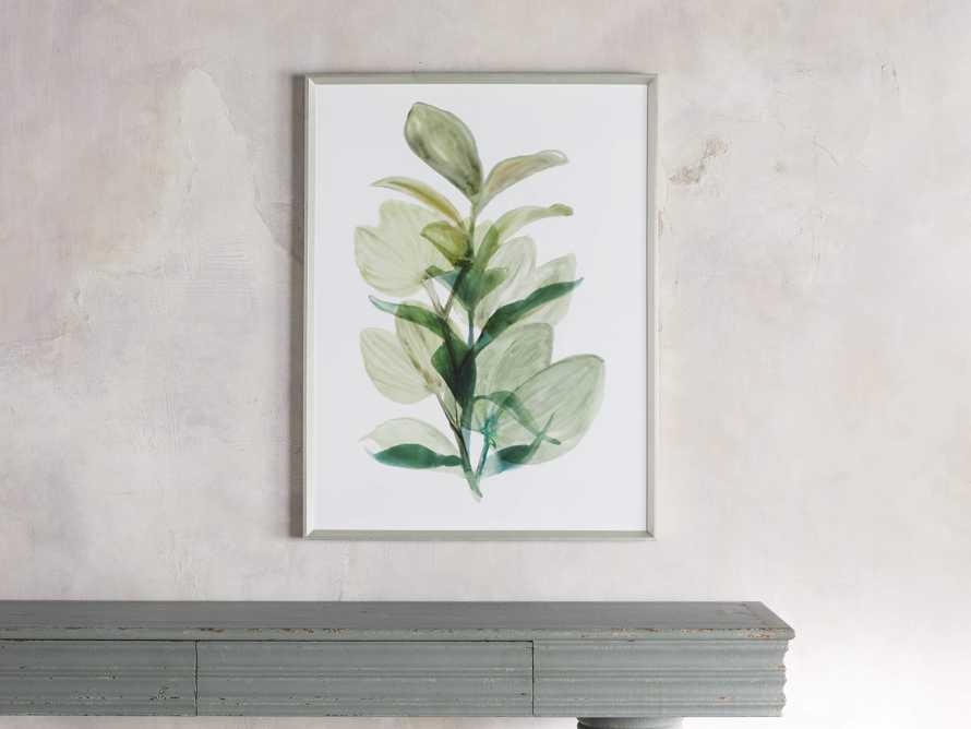 Translucent Leaves Framed Print I, slide 1 of 7
