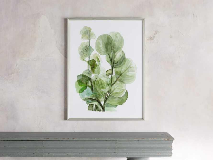 Translucent Leaves Framed Print II, slide 1 of 7