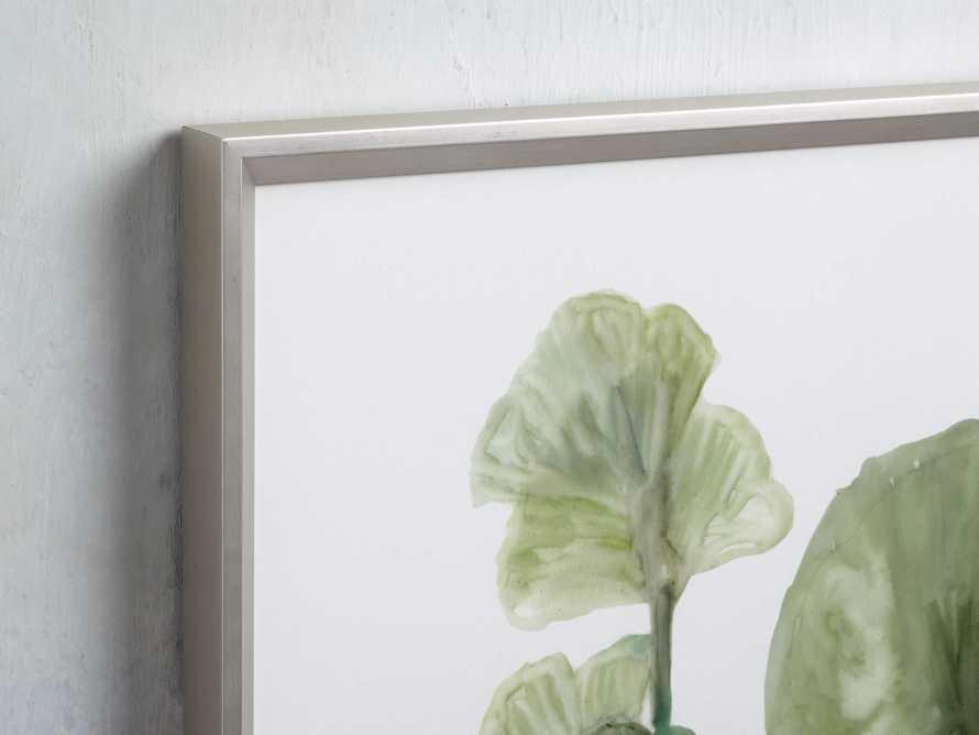 Translucent Leaves Framed Print II, slide 2 of 7
