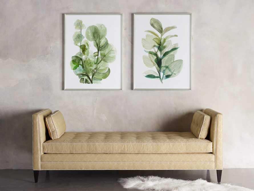 Translucent Leaves Framed Print II, slide 3 of 7