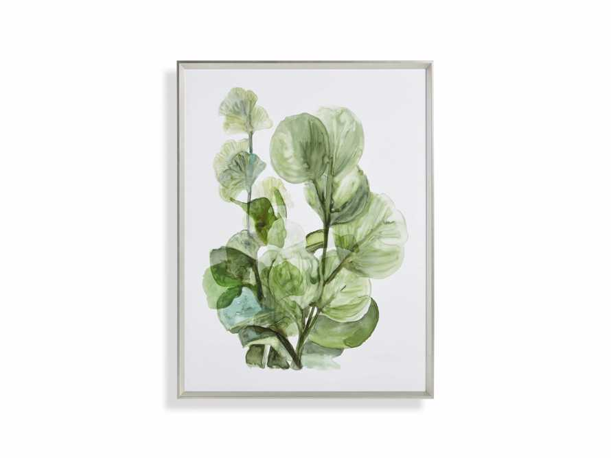 Translucent Leaves Framed Print II, slide 7 of 7