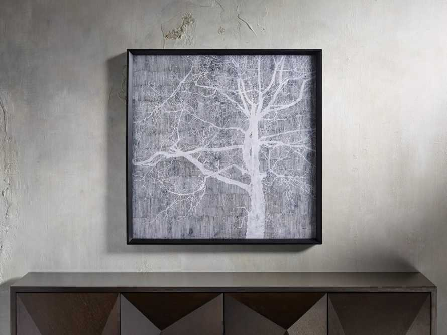 "Shadowy Treescape 31"" Framed Print, slide 1 of 5"