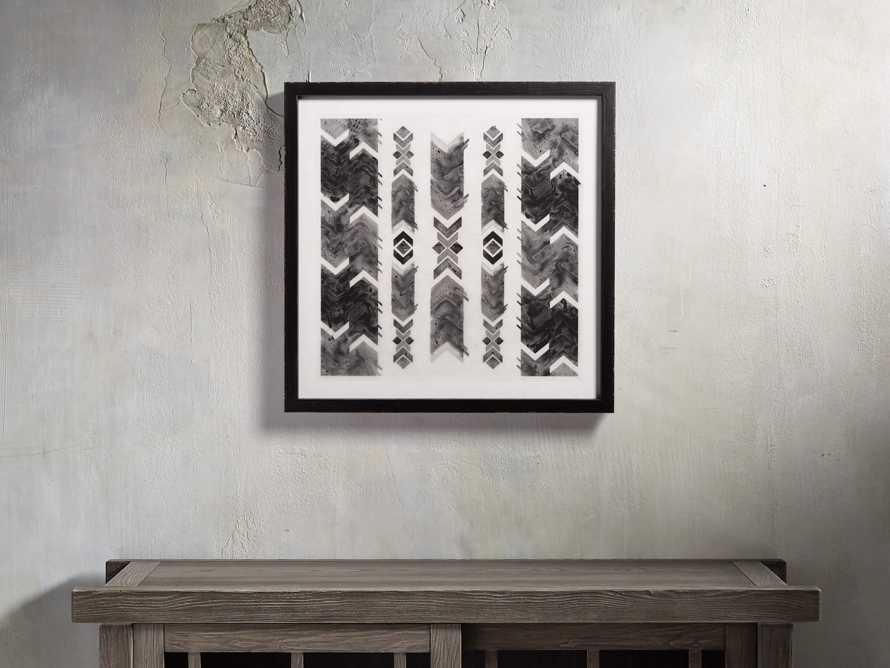 """Ink Impression 21"""" Framed Print"""