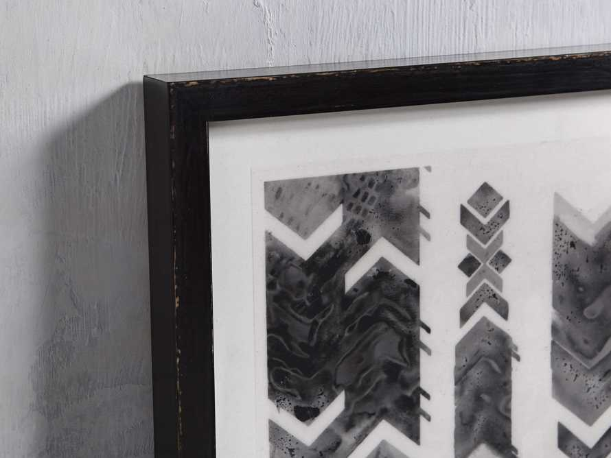"Ink Impression 21"" Framed Print"