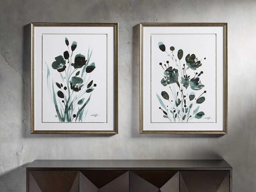 "Harmonious Petals 30"" Framed Print II, slide 3 of 4"