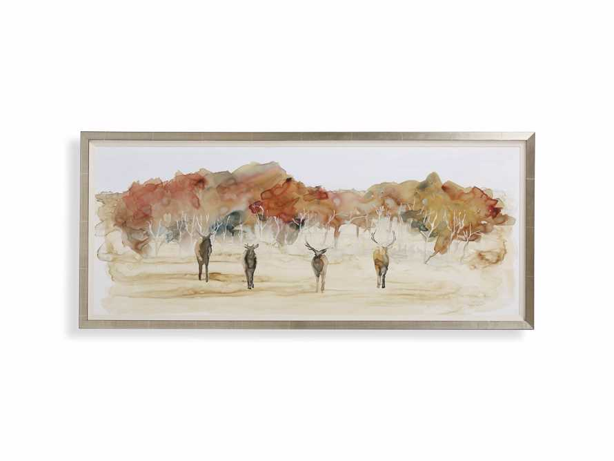 Autumn Herd Framed Print
