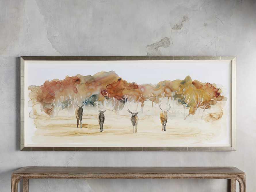 Autumn Herd Framed Print, slide 1 of 3