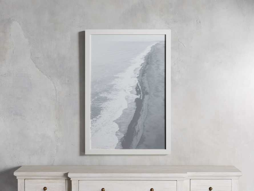 Arial Shore Framed Print, slide 1 of 3