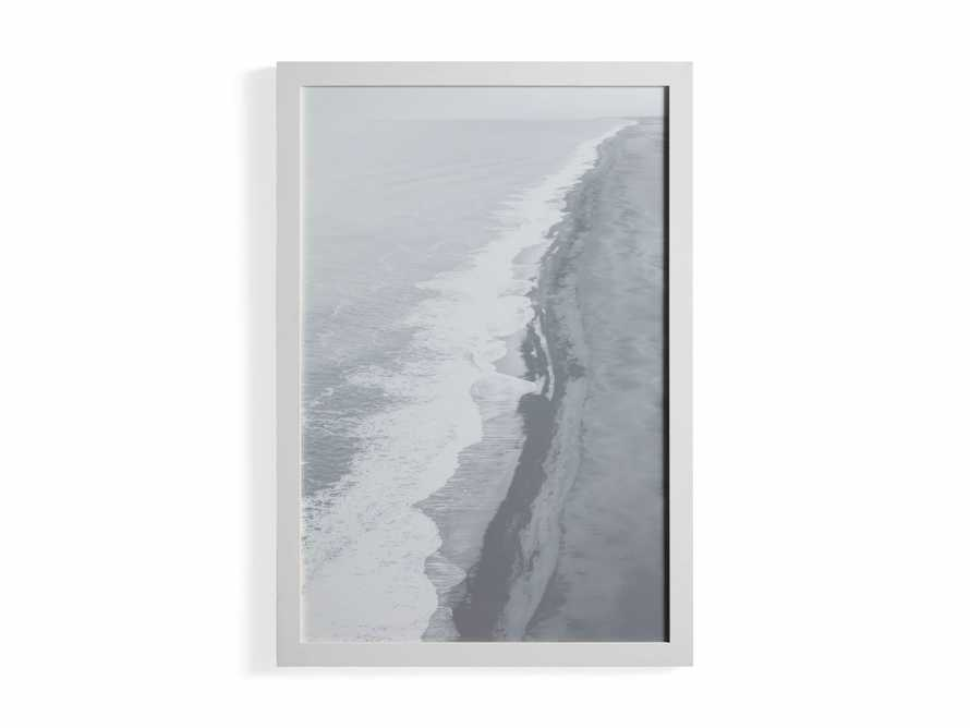Arial Shore Framed Print, slide 3 of 3