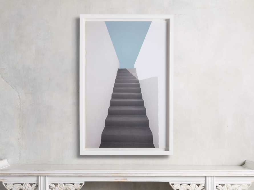 Grey Stairway Framed Print, slide 1 of 4
