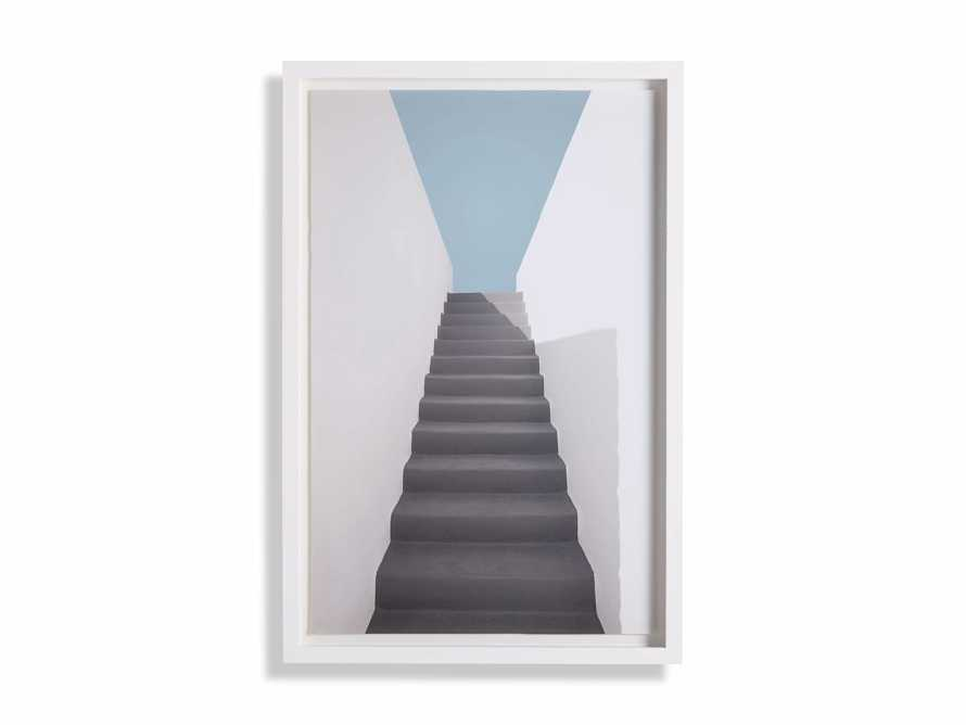 Grey Stairway Framed Print, slide 3 of 4