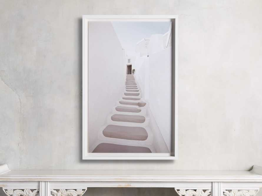 Pink Stairway Framed Print, slide 1 of 4