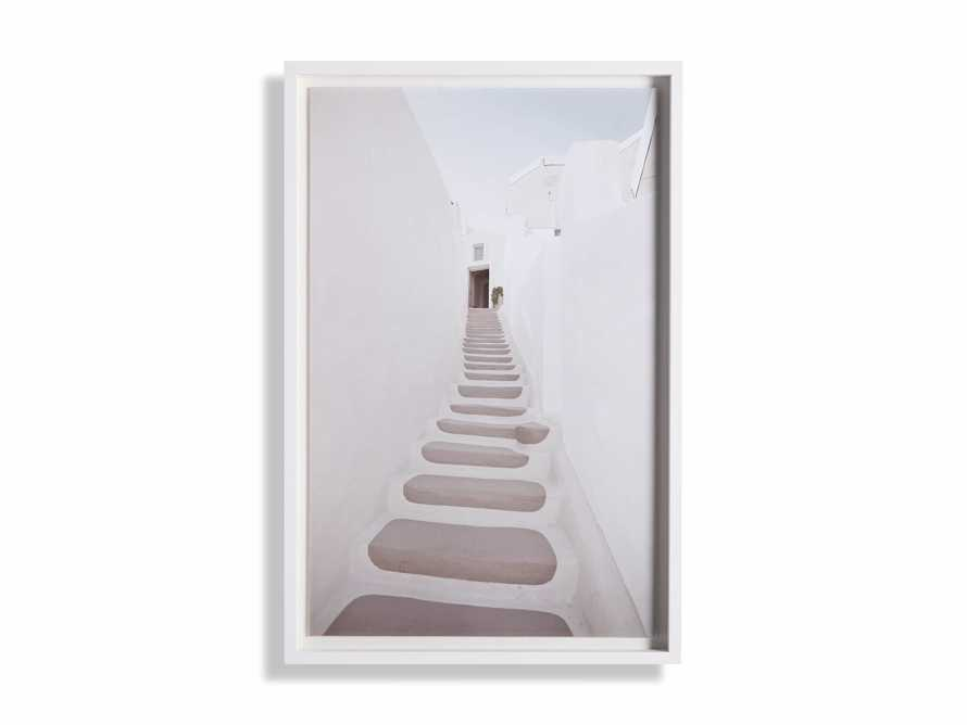Pink Stairway Framed Print, slide 3 of 4