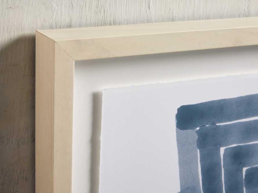 Linee Blu Framed Print I, slide 2 of 5