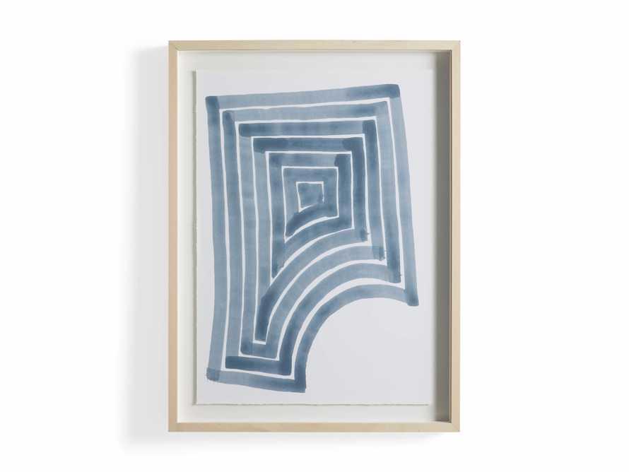 Linee Blu Framed Print II, slide 5 of 5