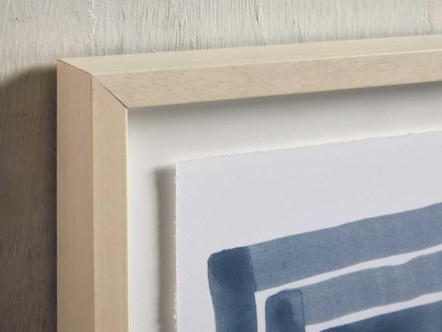 Linee Blu Framed Print II, slide 2 of 5