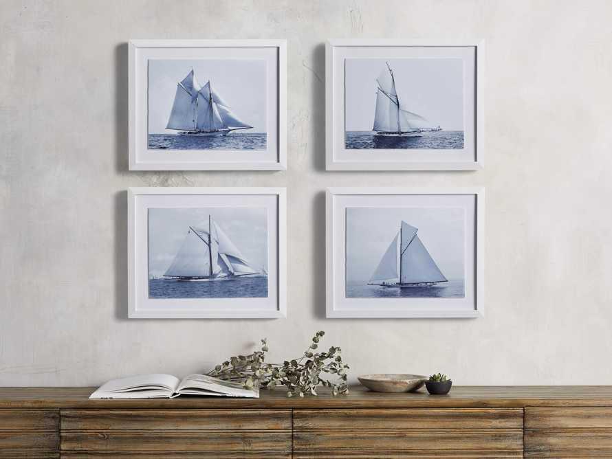 Blue Sail I Print, slide 3 of 4