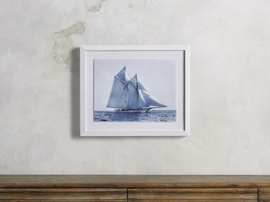 Blue Sail I Print, slide 1 of 4