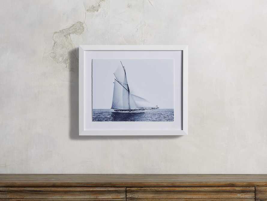 Blue Sail II Print, slide 1 of 4