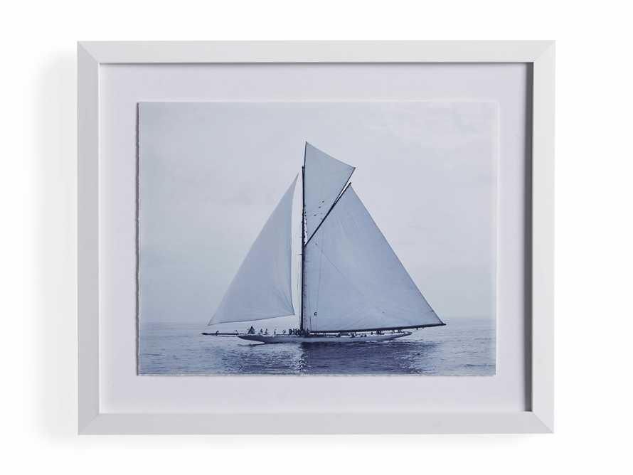 Blue Sail III Print, slide 4 of 4