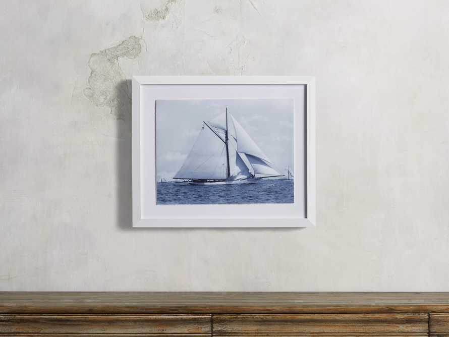 Blue Sail V Print, slide 1 of 4