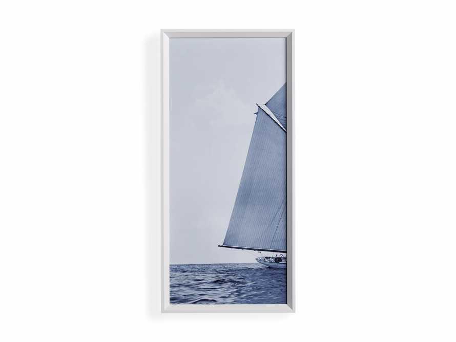 Blue Sails Triptych I Print, slide 4 of 5