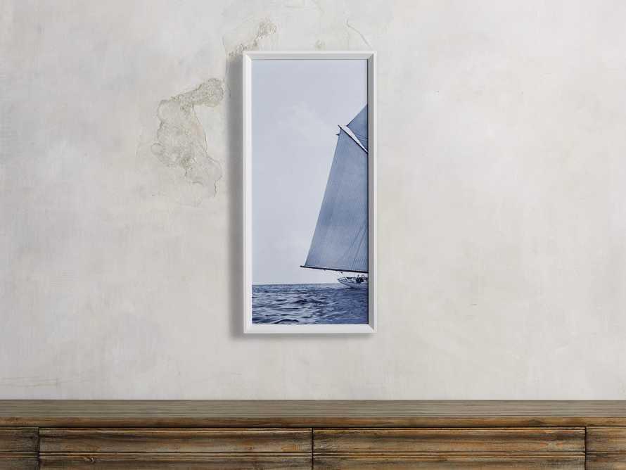 Blue Sails Triptych I Print, slide 1 of 5
