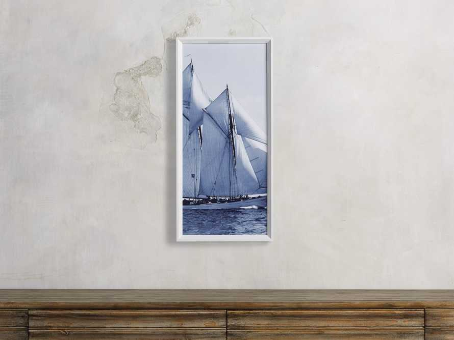 Blue Sails Triptych II Print, slide 1 of 5