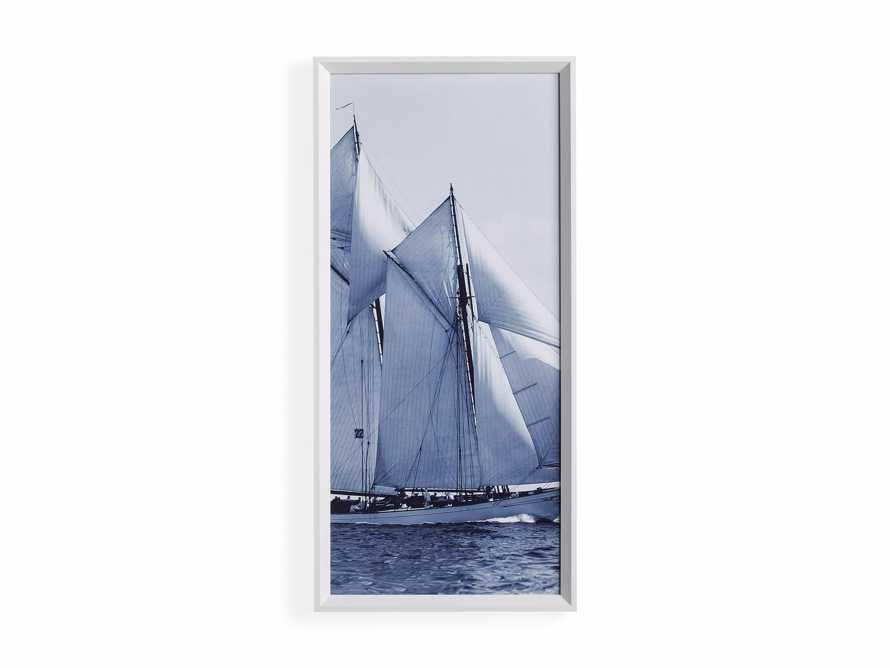 Blue Sails Triptych II Print, slide 4 of 5