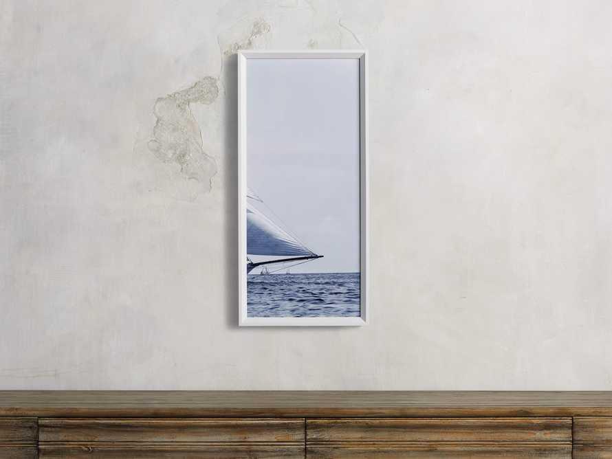 Blue Sails Triptych III Print, slide 1 of 5