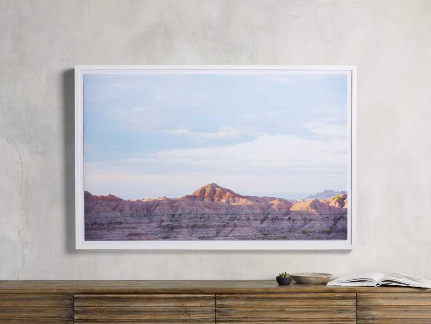 The Badlands Framed Print, slide 1 of 3