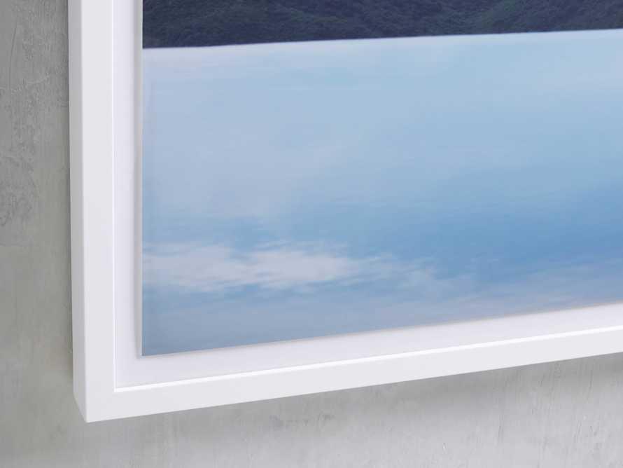 Mountain Views Blue Framed Print, slide 2 of 4