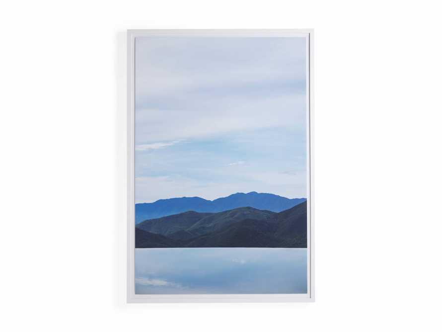 Mountain Views Blue Framed Print, slide 4 of 4