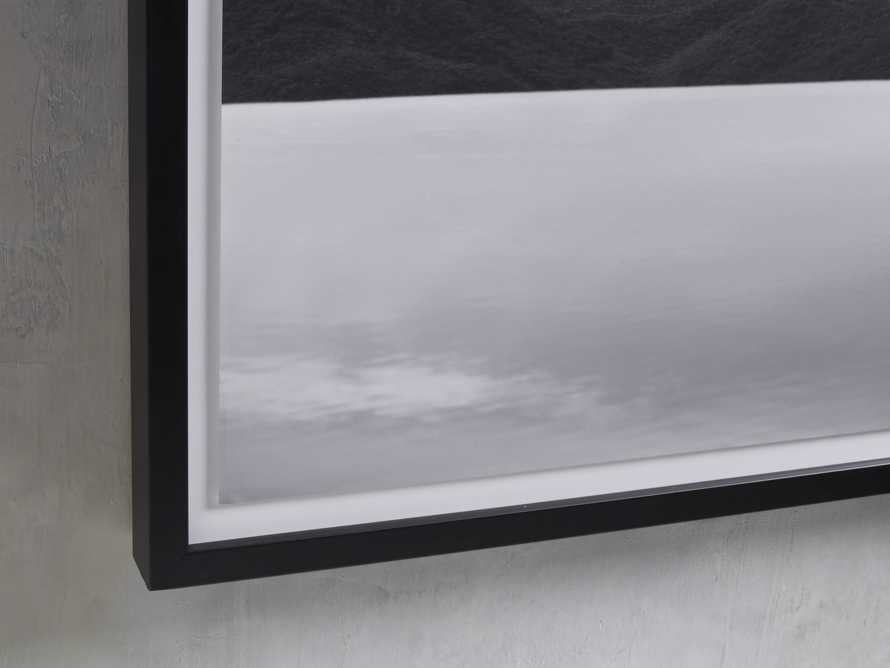 Mountain Views Black & White Framed Print, slide 2 of 3