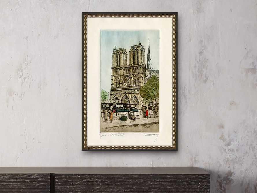 Quai St. Michel Framed Print, slide 1 of 2