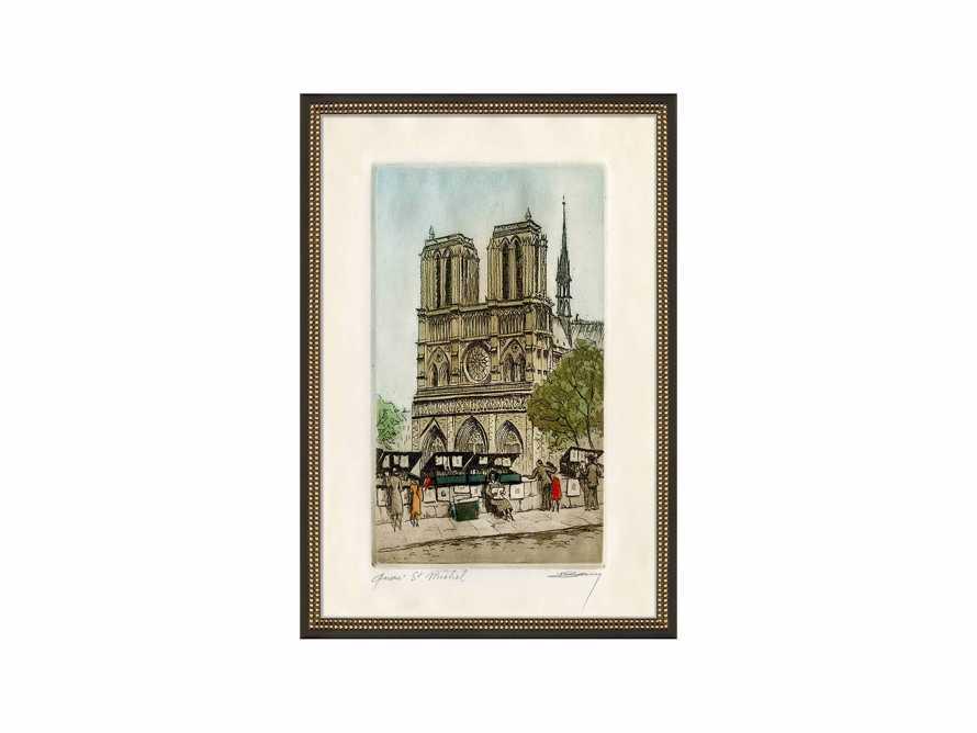 Quai St. Michel Framed Print, slide 2 of 2