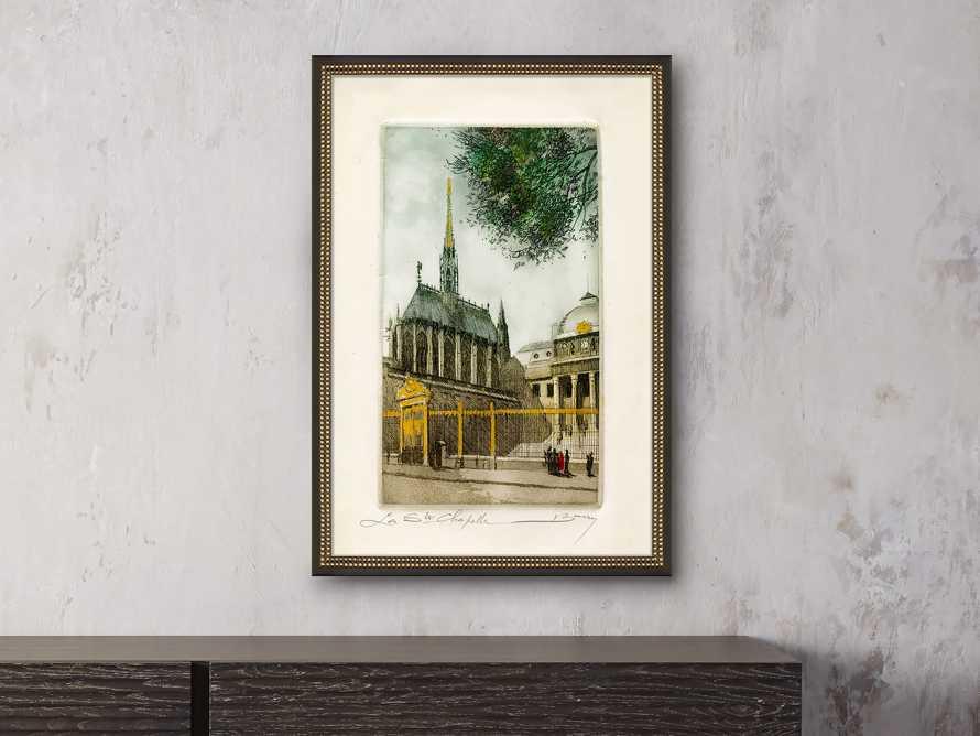 La Ste Chapelle Framed Print