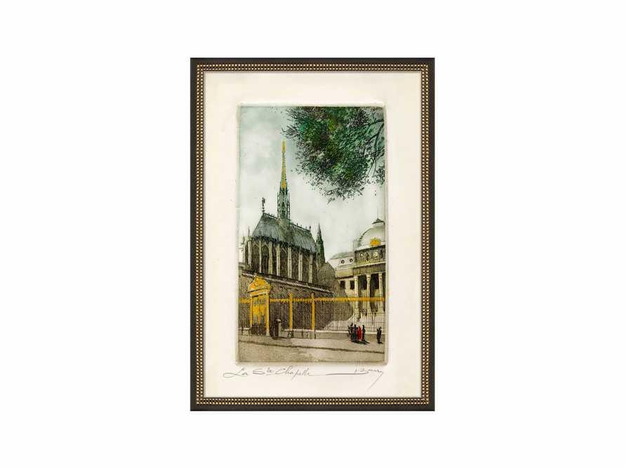 La Ste Chapelle Framed Print, slide 2 of 2