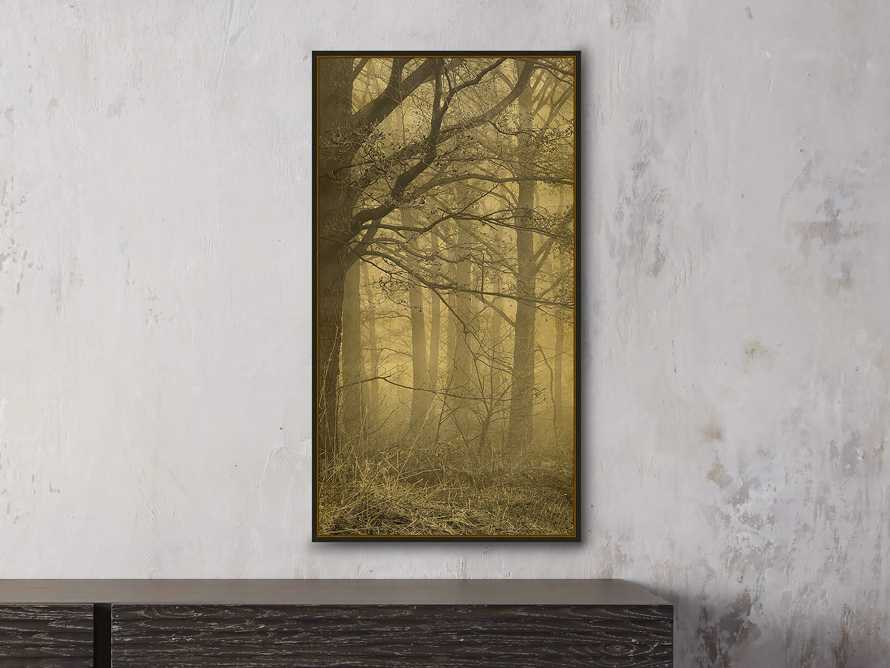 "Gold Leaf Forest 16"" X 30"" Print 1"