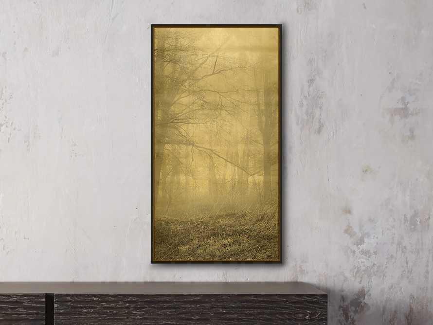 "Gold Leaf Forest 16"" X 30"" Print 3"