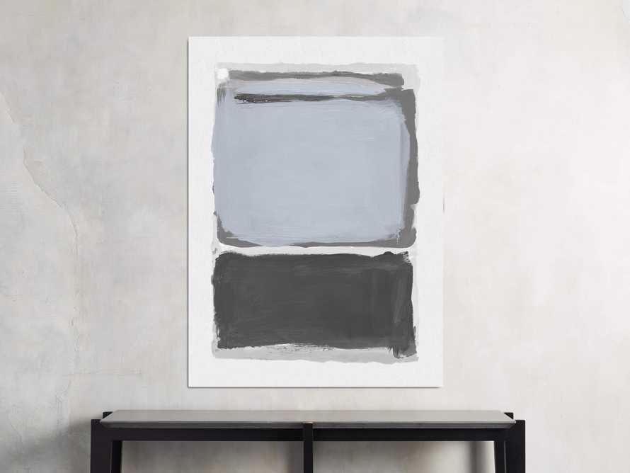 """Colorfield Dark Grey 40"""" X 55"""" Print"""