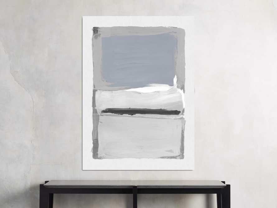 "Colorfield Light Grey 40"" X 55"" Print"