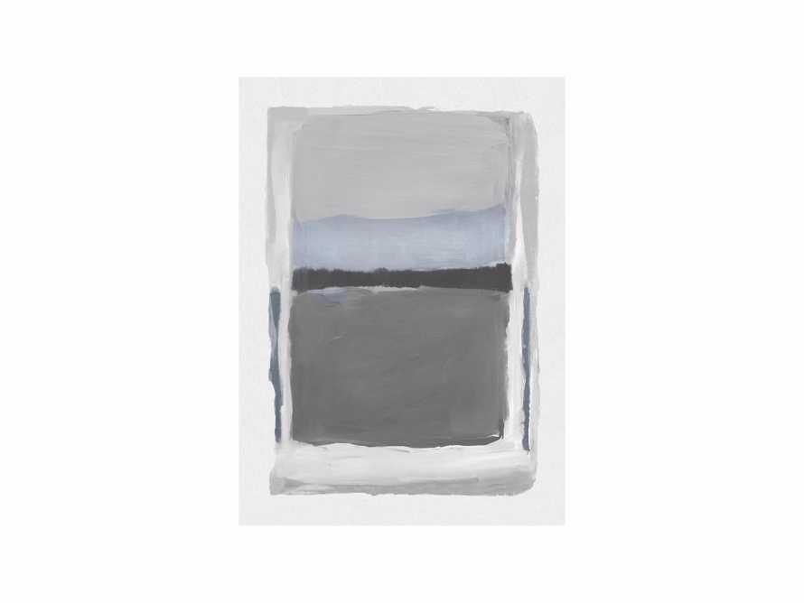 "Colorfield Medium Grey 40"" X 55"" Print"