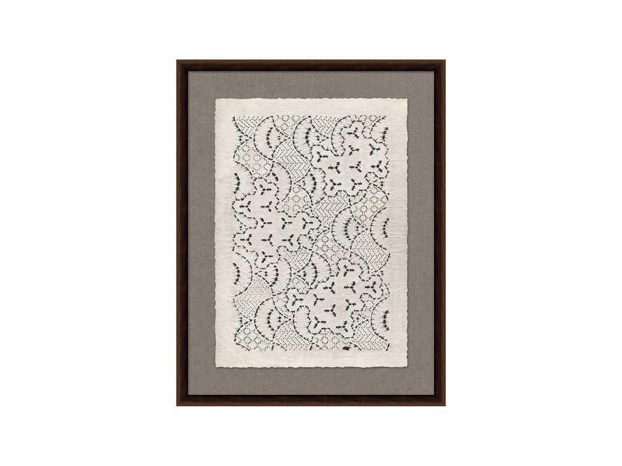 "Papercut 28"" X 36"" Lace Print"