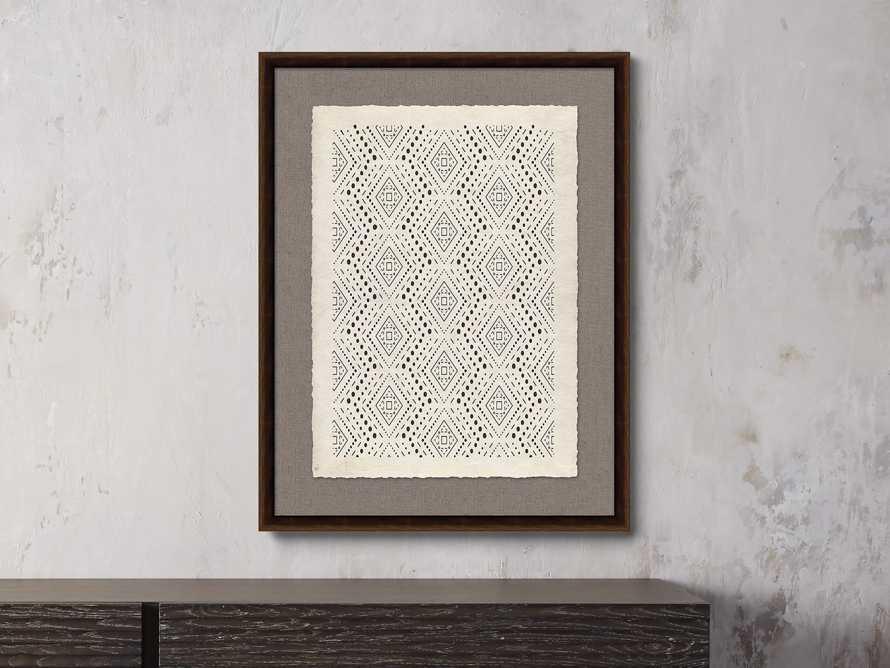 "Papercut 20.75"" X 25.75"" Deco Print"