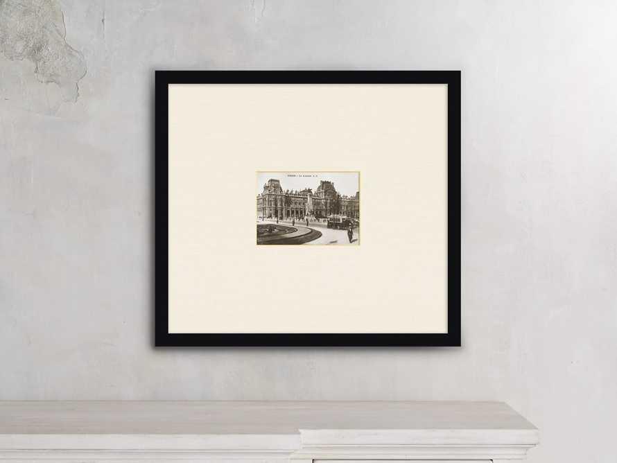 """Le Louvre 21"""" X 19"""" Print"""