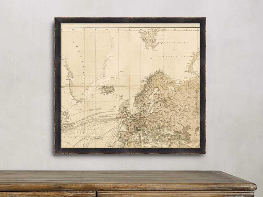 World Map Gallery Print II, slide 1 of 2
